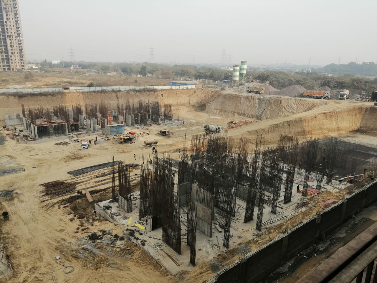 BASEMENT CONSTRUCTION OF TOWER 3, 5 & 6