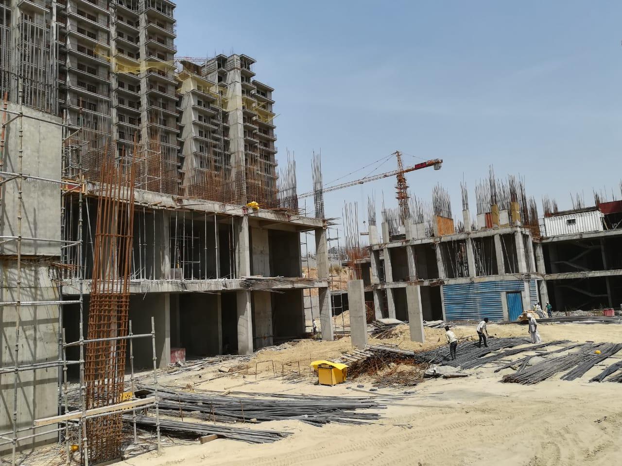BASEMENT CONSTRUCTION OF TOWER 1 & 6