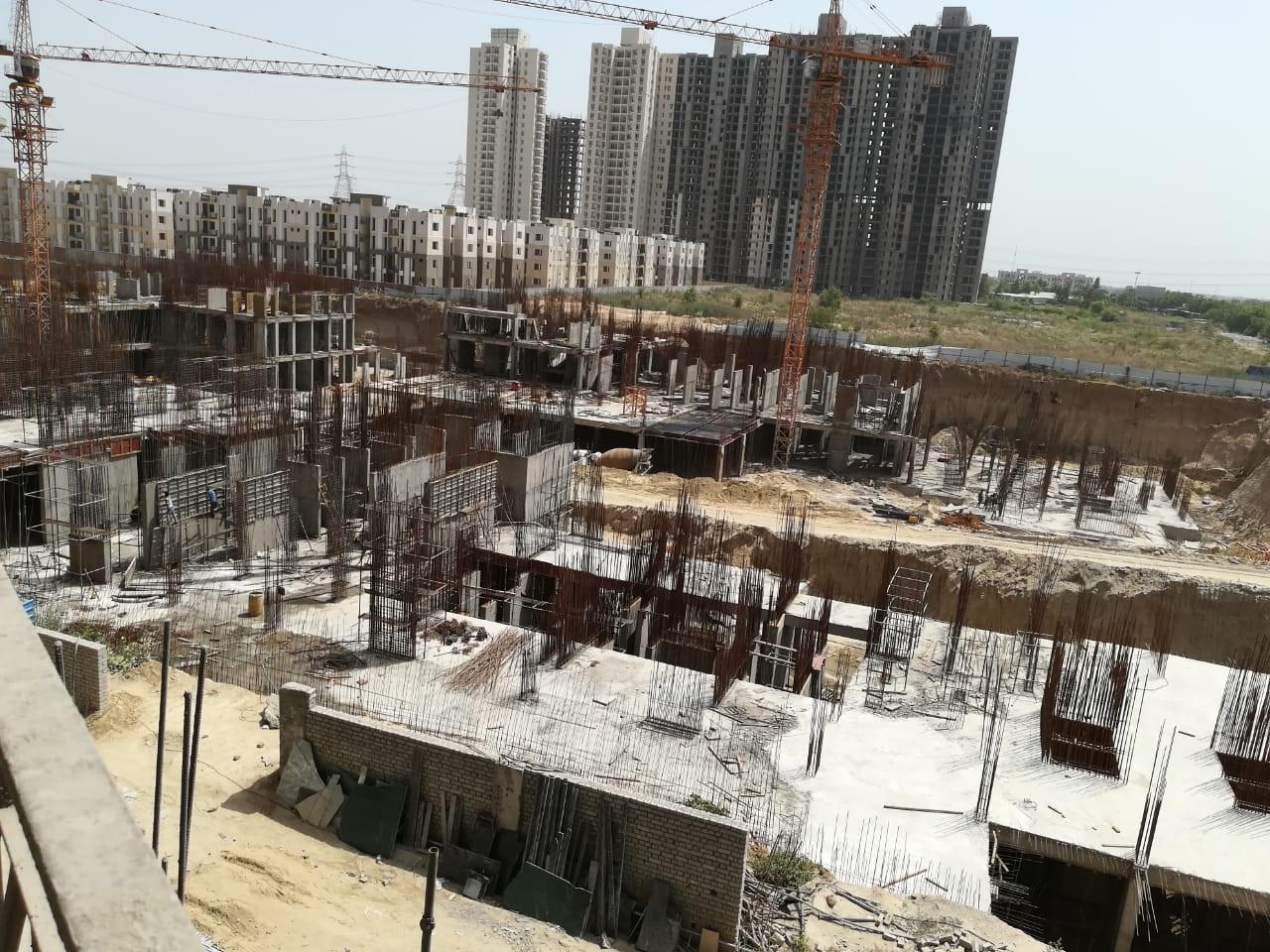 BASEMENT CONSTRUCTION OF TOWER 2, 3, 4, 5 & 6