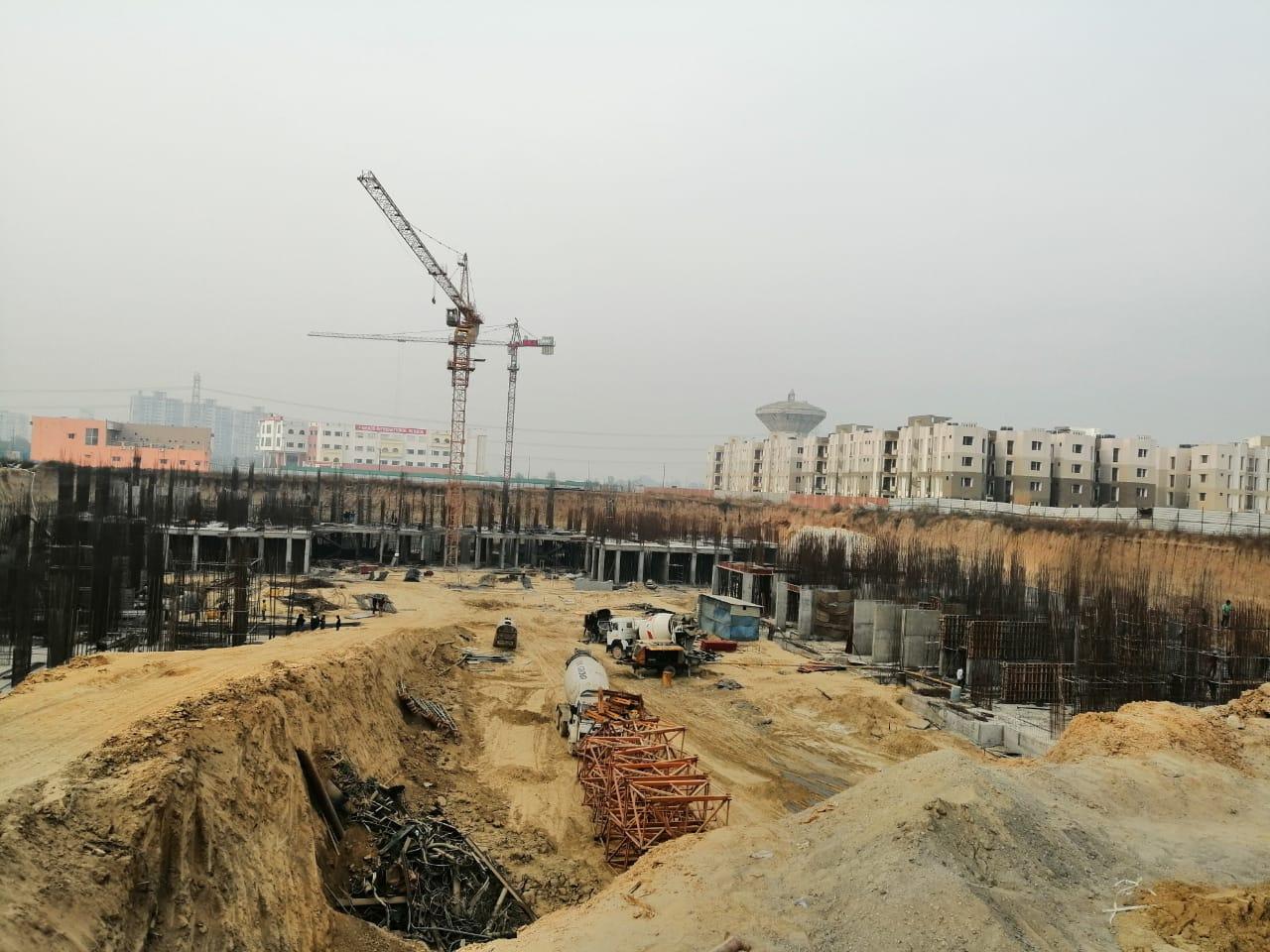 BASEMENT CONSTRUCTION OF TOWER 1, 2, 3, 5 & 6