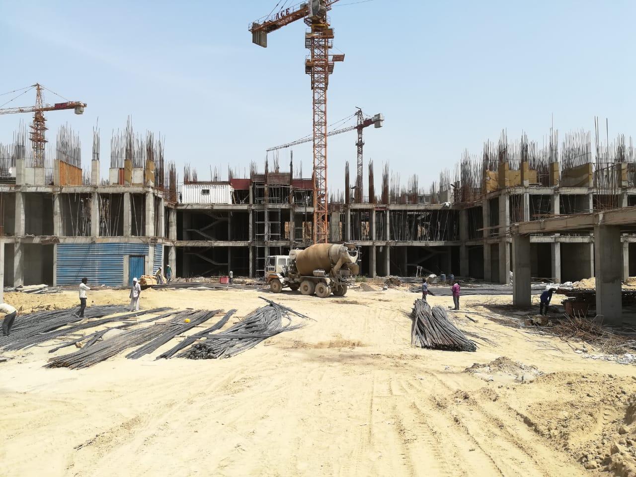 BASEMENT CONSTRUCTION OF TOWER 1 & 2