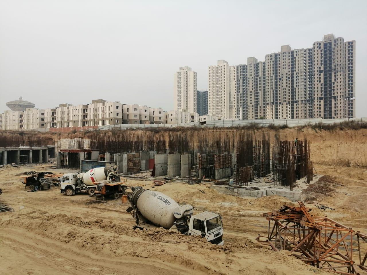 BASEMENT CONSTRUCTION OF TOWER 2 & 3